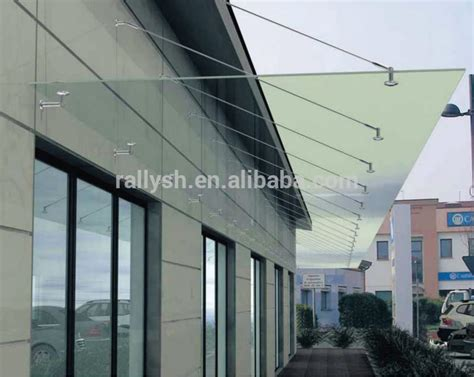 Glass Awning Outerdoor Glass Canopy Awnings Fittings Buy Stainless