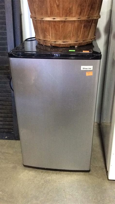 Room Refrigerator by Magic Chef Room Type Refrigerator Stainless