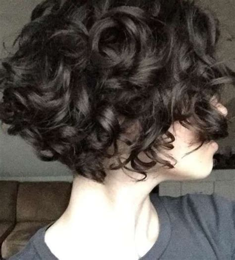 look pelo rizado corto pelo corto rizado 2018 looks y tendencias