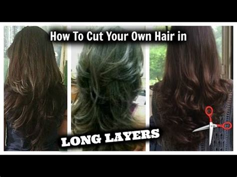 vote no on how i cut layers in my hair at
