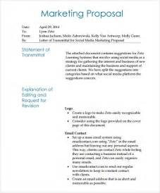 doc 580682 marketing proposal letter sample marketing