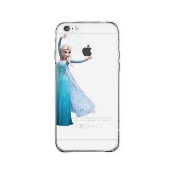 Frozen Disney D0241 Iphone 7 elsa frozen disney iphone 6 clear from iphone shop