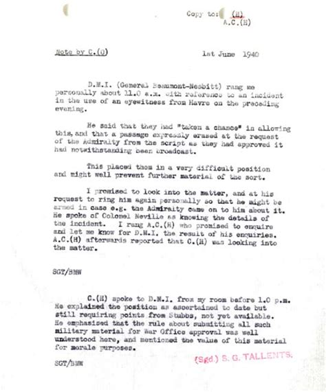 eye witness report sle archive wwii dunkirk evacuation a query
