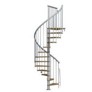 Stair Kits Home Depot by Arke Nice1 51 In Grey Spiral Staircase Kit K50105 The
