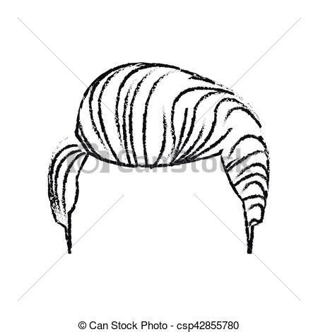 desenho cabelo cabelo desenho isolado homem homem pessoas isolado