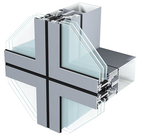 unitised curtain wall system semi unitized curtain walling sapa building system