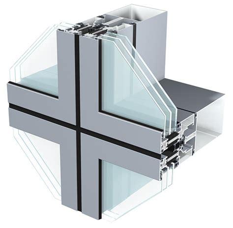 unitised system curtain wall semi unitized curtain walling sapa building system