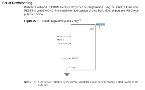 high voltage serial programming avr avr isp dapa mode with optocouper high voltage