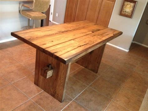eclectic dining tables dining table reclaimed american chestnut eclectic