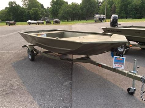 tracker boats missouri tracker 1648 jon boats for sale in missouri