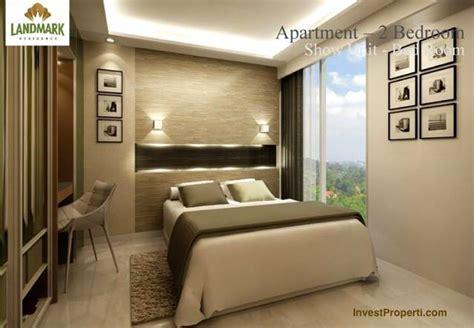 layout kamar apartemen design kamar 2 br landmark residence apartemen