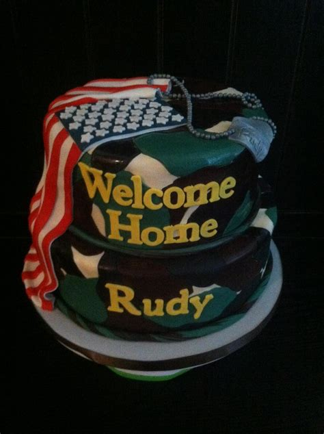 welcome home military decorations welcome home army cake my style pinterest home welcome home and army cake