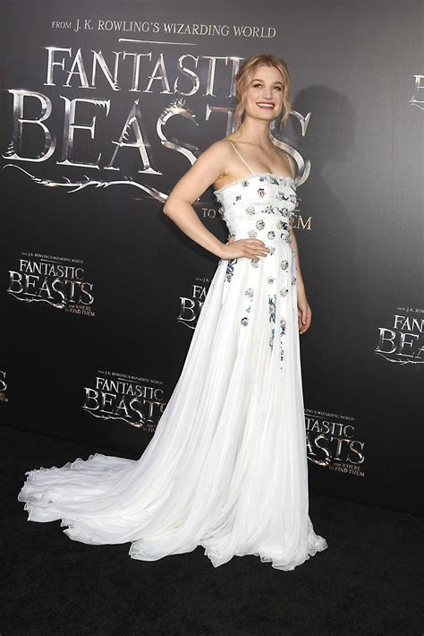 New York Premiere Of Antoinette by Alison Sudol At The Fantastic Beasts And Where To Find