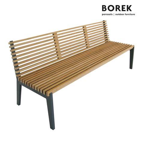 Gartenbank Holz Wetterfest