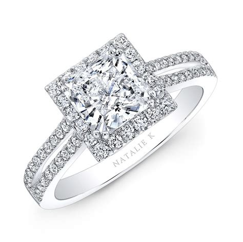 Square Engagement Rings by Square Wedding Rings Wedding Promise