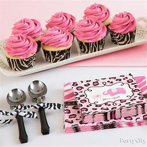 Pink Safari Baby Shower Ideas by Baby Shower Cutlery Idea Pink Safari Baby Shower