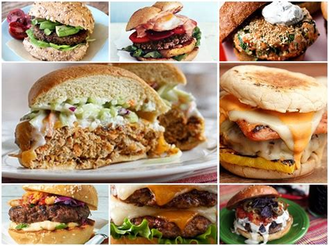 20 inventive burger recipes