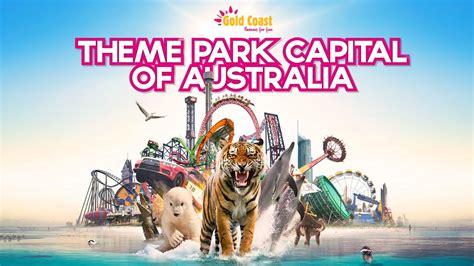 themes parks gold coast gold coast theme parks youtube