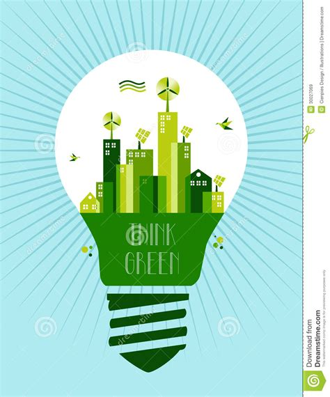 go green city background stock vector image of media go green city idea concept stock vector image of city