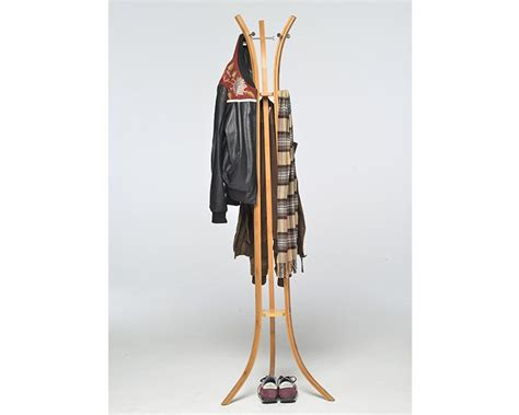 Contemporary Oak Bedroom Furniture - bamboo coat stand