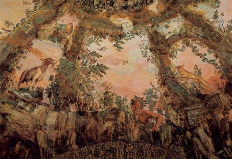 Fresco Ceiling by File Bernardino Poccetti Ceiling Fresco Wga17987 Jpg