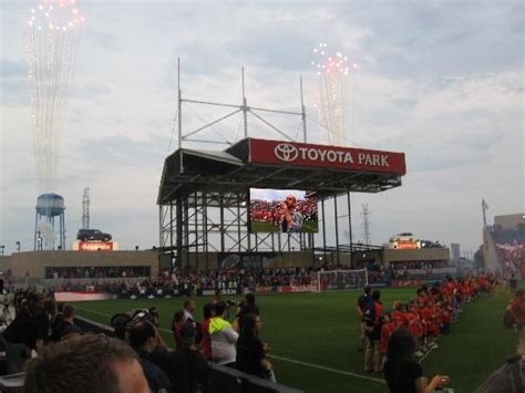 Hotels Near Toyota Park Players Entering Pitch Picture Of Toyota Park