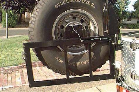 Tire Rack Road Tires by Toyota Fj40 Tire Carrier Cooler Rack Road