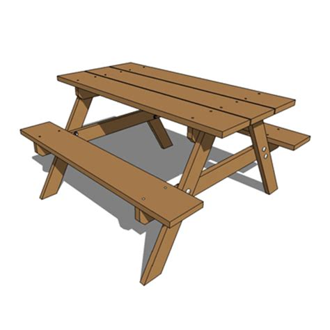 picnic table clipart  cliparts