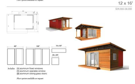 Small House Kits Modern Denny Modern Shed Roof Cabin Plans