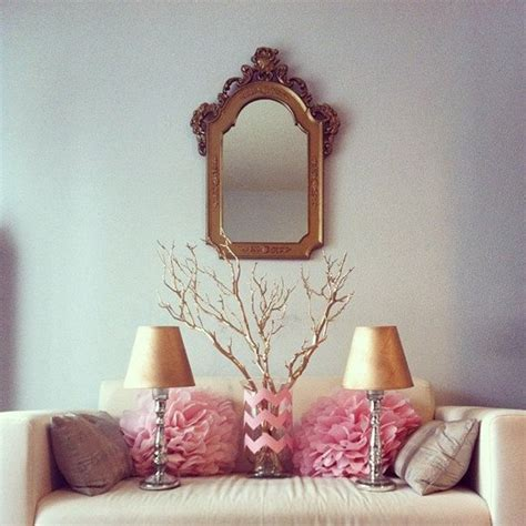 Pink And Gold Bedroom Decor by Pink And Gold Decor Diys Popsugar Home