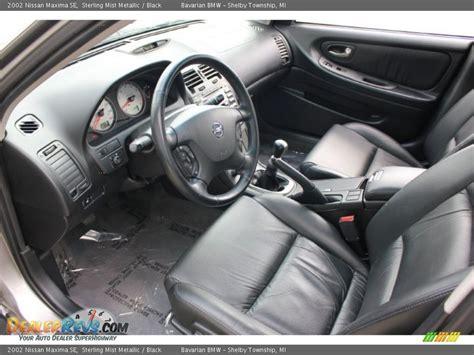 Nissan Altima Black Interior by Black Interior 2002 Nissan Maxima Se Photo 9