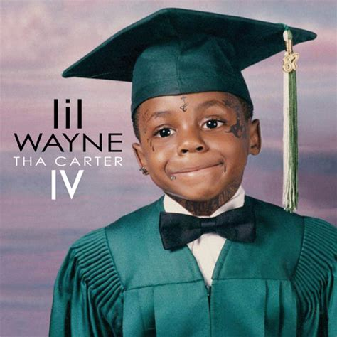 Section Lil Wayne by Lil Wayne Wears Graduation Gown In Tha Iv Cover