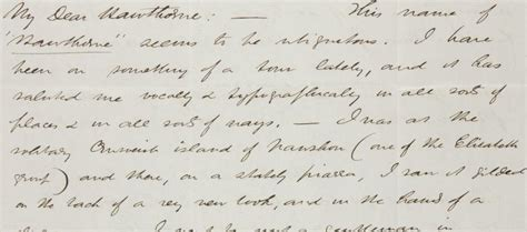 Herman Melville Letters read a letter from herman melville to nathaniel