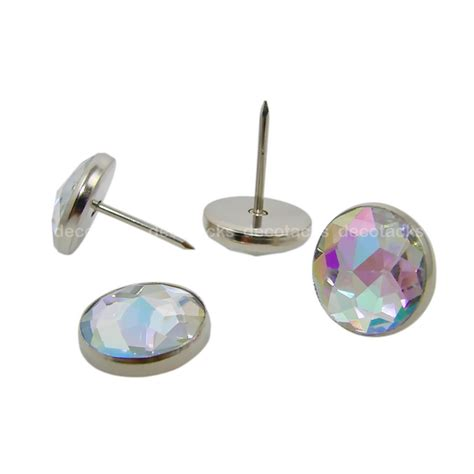 crystal upholstery tacks dxc crystal upholstery tacks solitaire 14 iridescent