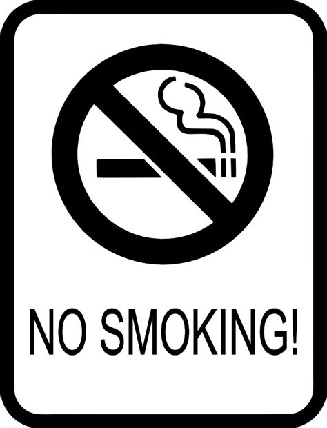 no smoking coloring pages clipart best