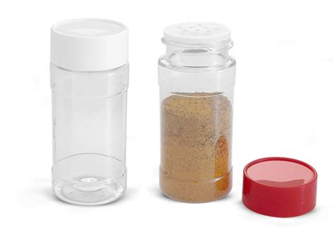 Spice Bottles Sks Bottle Packaging Food Containers Plastic Spice Bottles
