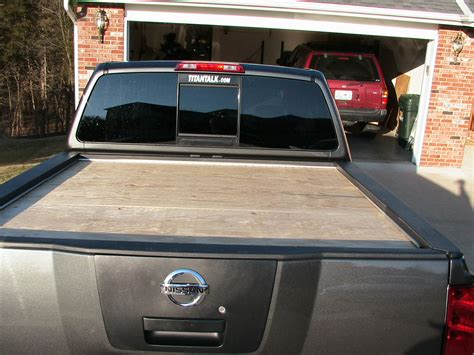 truck made home made tonneau nissan titan forum