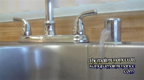 kitchen air gap how to stop dishwasher leaking water from counter top