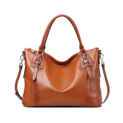 leather crossbody tote kattee leather shoulder bag tote purse handbag messenger crossbody satchel