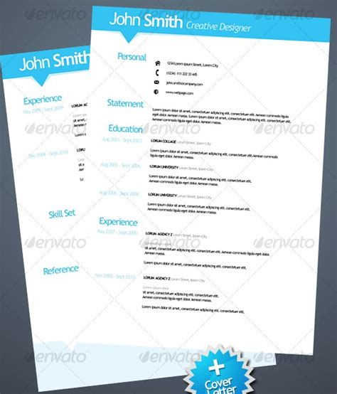 37 stylish resume templates ipixel creative singapore