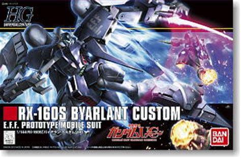 Hg Gundam Hguc Byarlant Custom byarlant custom hguc gundam model kits hobbysearch
