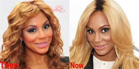 tamar braxton nose job before after tamar braxton plastic surgery before and after pictures