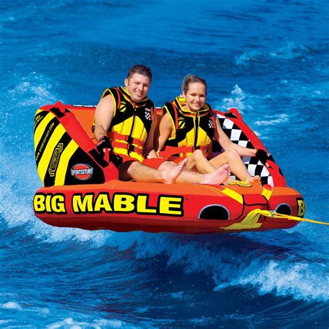 boat tubes at costco big mable inflatable double rider towable airhead