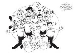 free printable wiggles coloring pages for - The Wiggles Coloring Pages