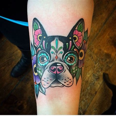 terrier tattoo designs 415 best bt images on boston