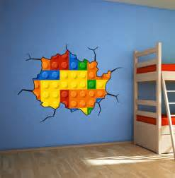 Lego Wall Stickers For Kids Rooms Lego Wall Art Wall Decoration Pictures Wall Decoration