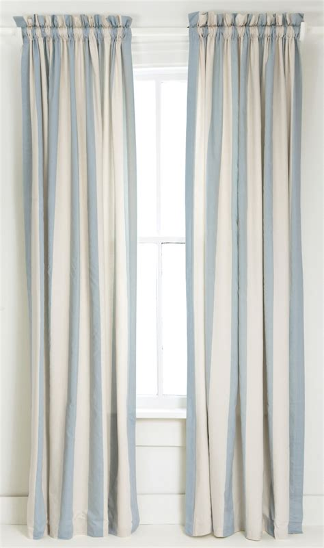 curtains with blue curtain inspiring blue striped curtains black and white