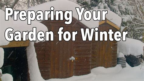 how to prepare your garden for winter today com preparing your garden for winter youtube