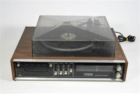 cassetta stereo 8 radio am fm giradischi bsr cassetta stereo 8 veero vintage