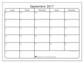 Calendrier Septembre 2017 à Imprimer Gratuit Calendrier Septembre 2017 74ld